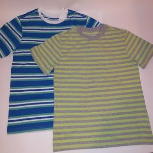 (2) Basic Editions Boys T shirts